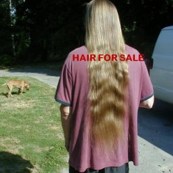 Sell My Long Shiny Blond Hair