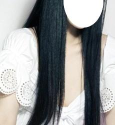 Virgin 20 inches straight Asian Dark Brown Hair