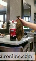 """selling my hair and only this time my 13/14\"""" virgin hair! for sale"""