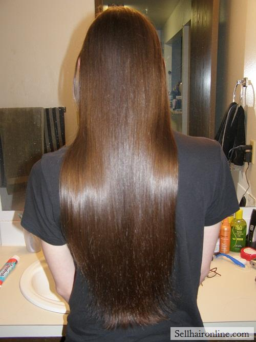 Healthy, and silky hair