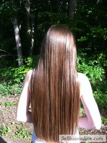 Selling My Virgin Light Brown Hair