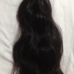 """Selling My 13\"""" Virgin Indian Black Hair"""