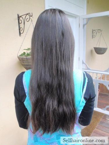 """12\"""" Brunette Virgin Hair For Sale"""