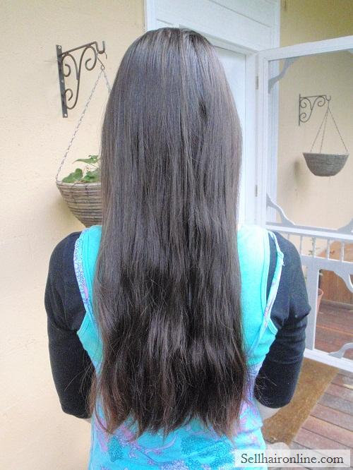 "12"" Brunette Virgin Hair For Sale"