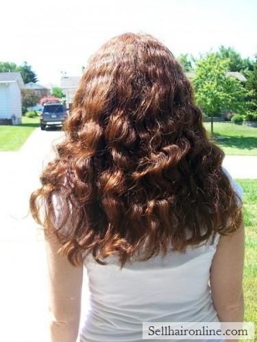 Thick Red Curly Hair For Sale