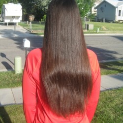 Sell 17″ Dark Brown Virgin Hair