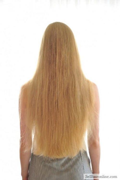 Sell My Virgin Healthy Blonde Hair