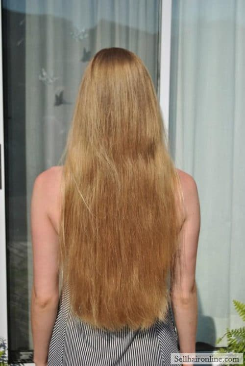 Sell My Virgin Healthy Blonde Hair