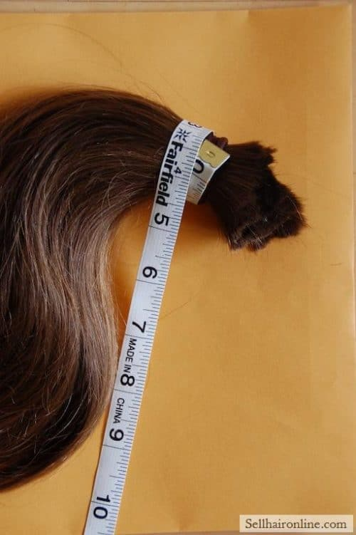 Thick Layered Virgin Brown Hair For Sale