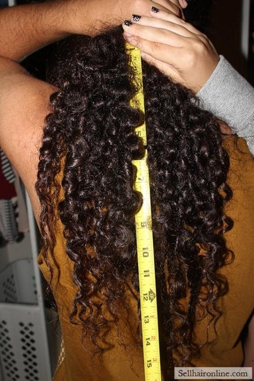 Sell 100% Salvadorian Hair. Long, Thick, Shiny And Very Curly