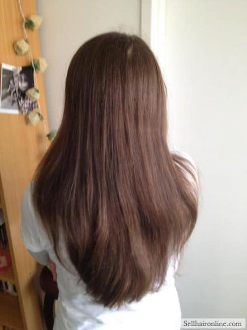"Sell My 12"" Chestnut Brown Hair"