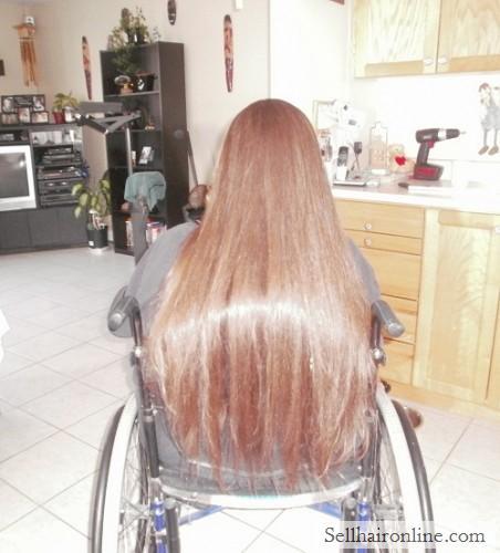 Virgin, RED Hair For Sale