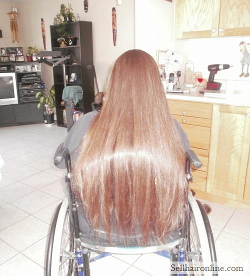 Virgin, RED Hair For Sale