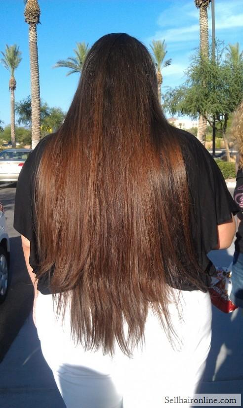 Long, luxurious hair for sale