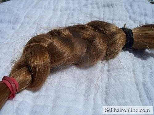 Sell My Strawberry Blond Virgin Hair