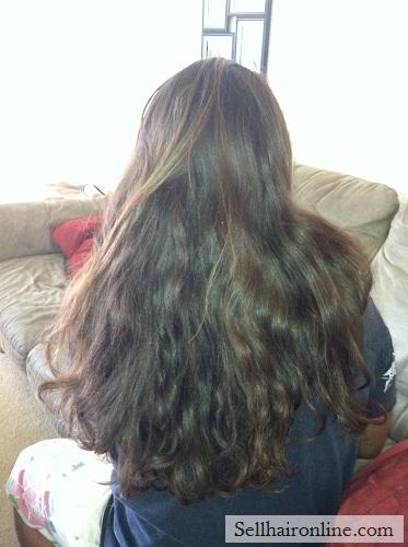 Selling Healthy Virgin Brown Wavy Island Hair