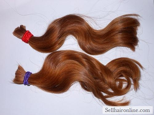Selling Two Virgin Red Hair Ponytails