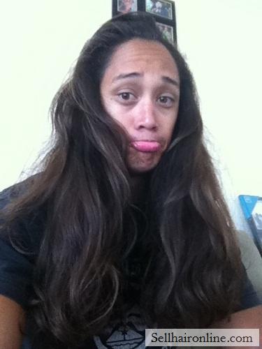 Selling Healthy Virgin Brown Wavy Island Hair