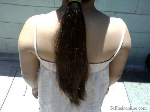 Sell My Long Virgin Dark Brown Hair
