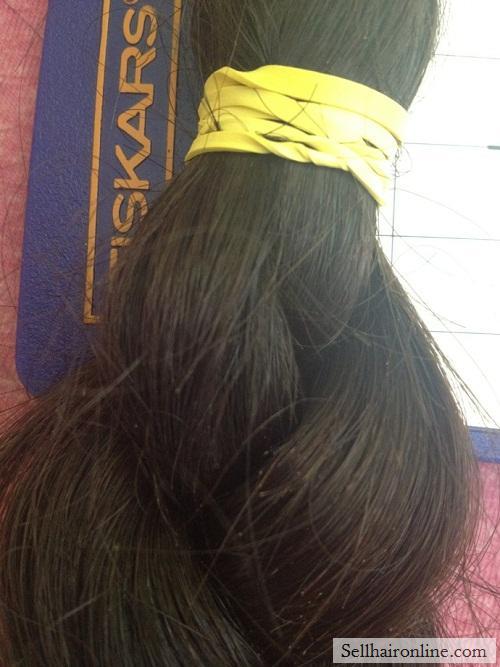 """14\"""" Dark Brown /Black Hair For Sale"""