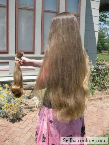 Light Brown Hair For Sale