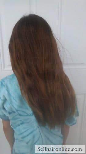 Selling virgin hair from 10 yr old girl