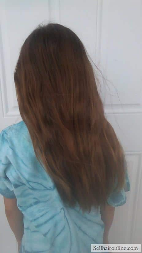 Selling virgin hair from 10 yr old girl