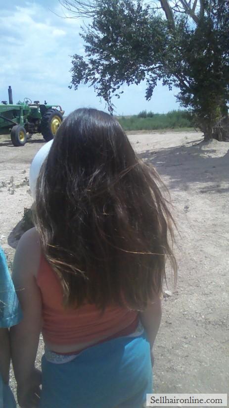 Selling virgin hair from 8 yr old girl