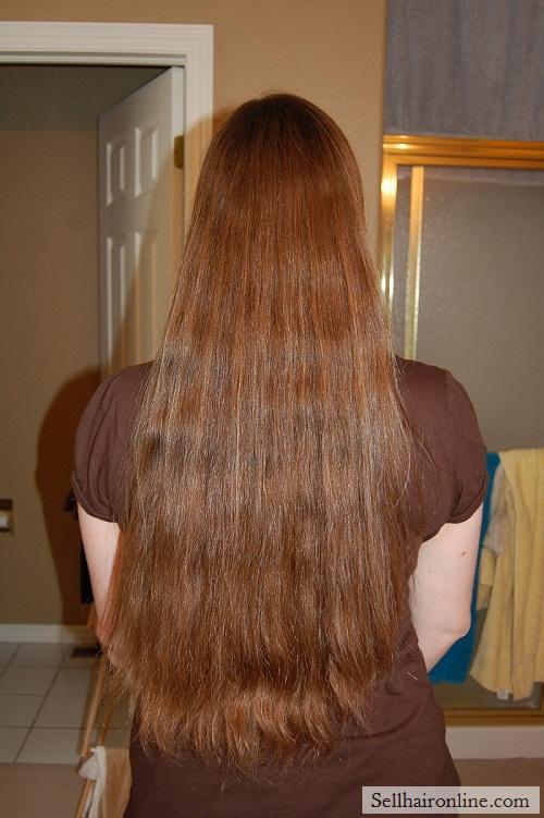 Selling Virgin Med Brown Hair