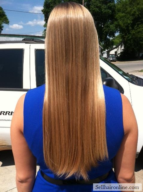 Sell My Blonde Virgin Hair