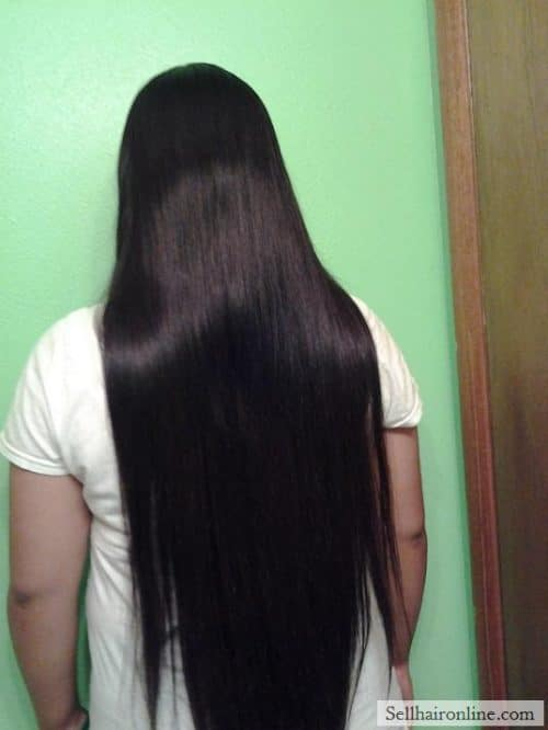 Selling My Virgin Dark Brown Hair 15-20 in
