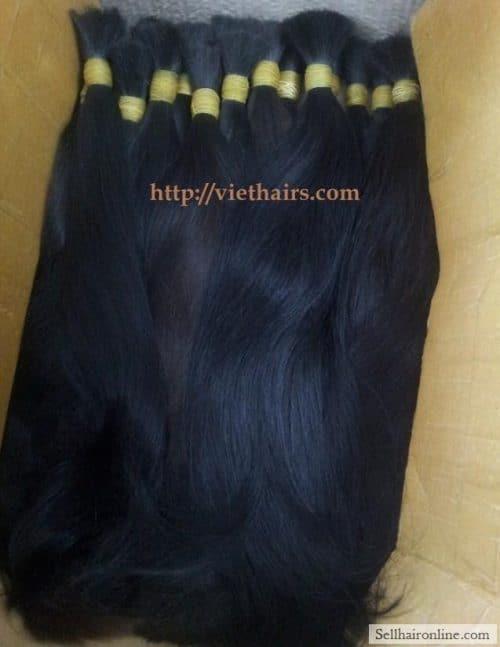 Sell Human Hair, Double drawn hair for sale, Virgin hair (300 grams)