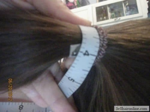 "Selling 11""-16\"" Virgin Wavy Brown Hair with Natural Highlights"