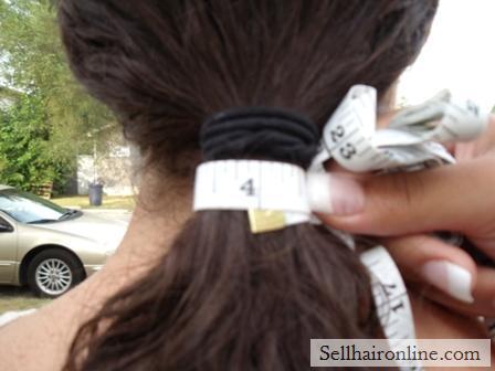 Long beautiful dark brown curly hair for sale (Virgin)