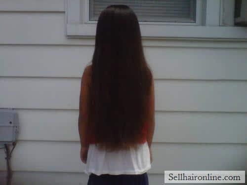 Sell virgin multi-cultural dark brown hair