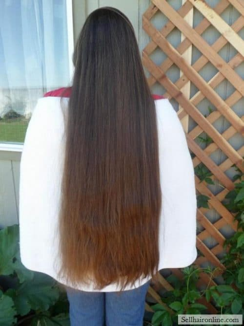 Thick Straight Light Brown Virgin Hair For Sale