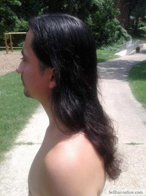 European wavy extremely thick strong dark brown virgin hair for sale!
