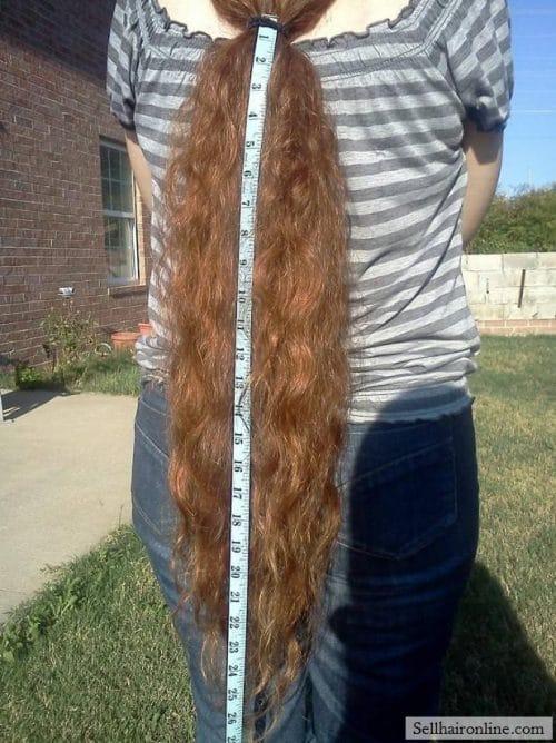 Sell My Beautiful Metallic Red Hair