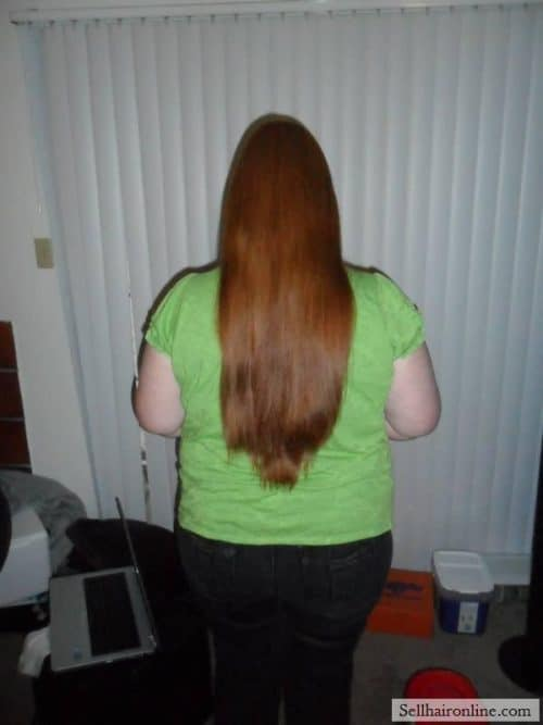 long beautiful red hair to sell
