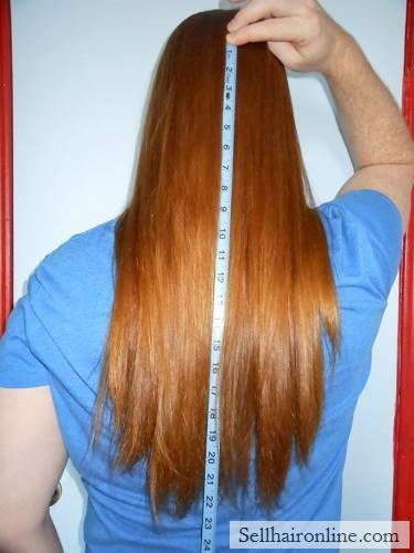 Beautiful Virgin Red Hair for sale