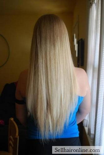 I am selling my blond hair