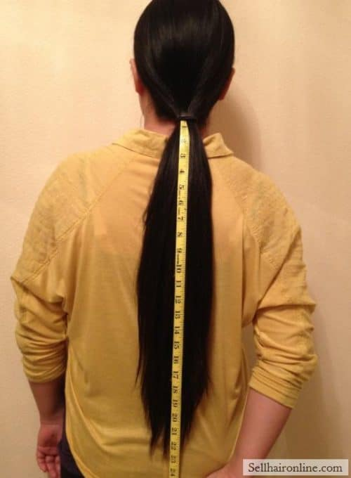 length ponytail