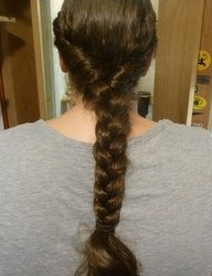 long hair braid