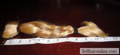 cut off long hair