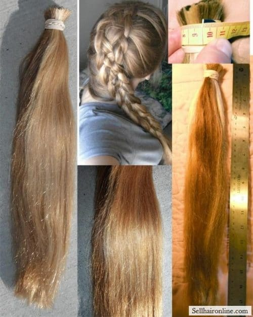 Honey Blond Hair for sale