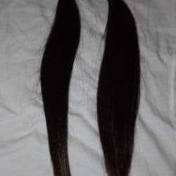 long dark brown straight hair to sell online