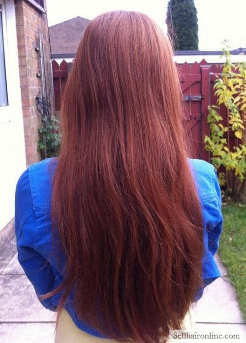 sell human hair for money online, very long hair