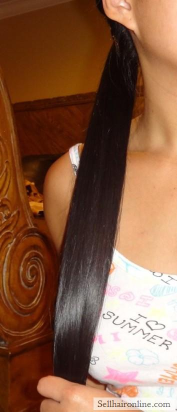 very long asian hair