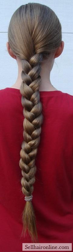 very long braid