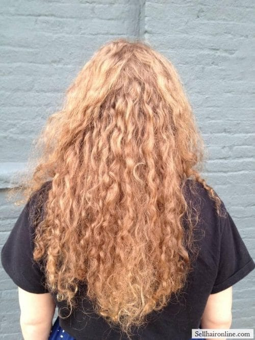 Exposing layers of ringlets